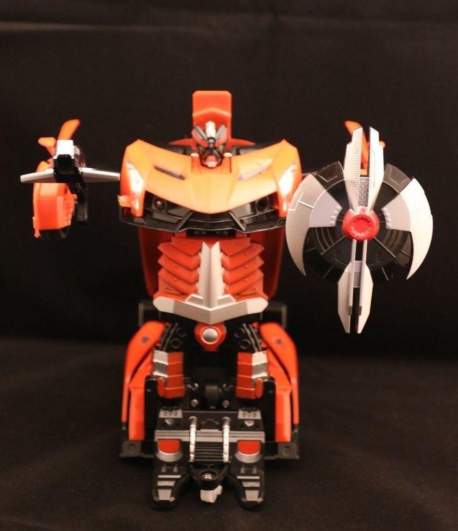 Ferngesteuert  Transformers   Orange  8+  OVP   vom Robo zum Auto