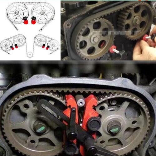 Car 5pc Single Twin Quad Dual Cam Clamp Timing Engine Gear Locking Tool Camshaft