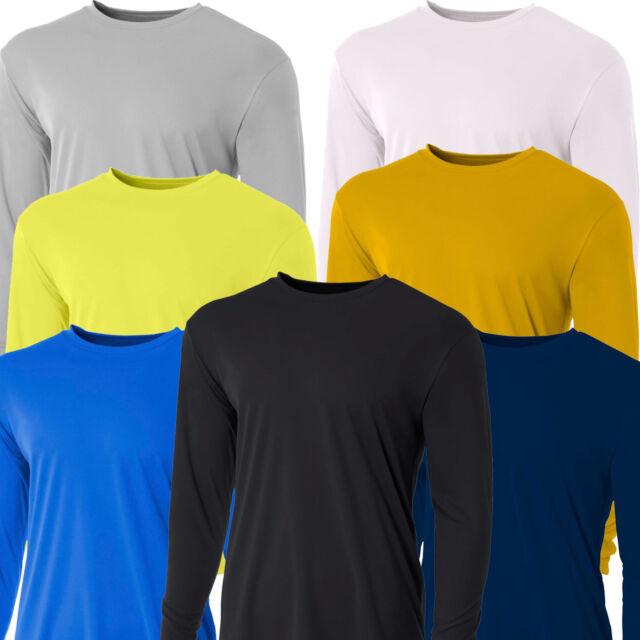 Mens Long Sleeve Loose Fit Rash Guard Surf Shirt Water Sports Swimwear