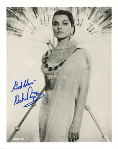 DEBRA PAGET SIGNED AUTOGRAPHED 8x10 PHOTO HOLLYWOOD SCREEN LEGEND BECKETT BAS
