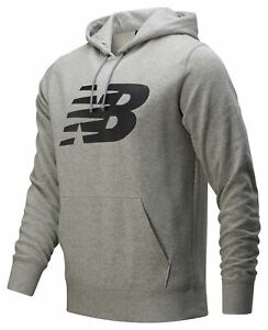 New Balance Men's Core Fleece Hoodie Grey