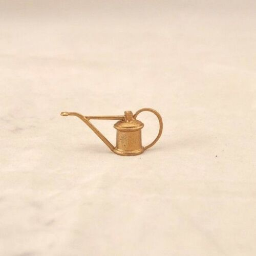 Watering Can 1//12 scale dollhouse cast metal miniature ISL0230