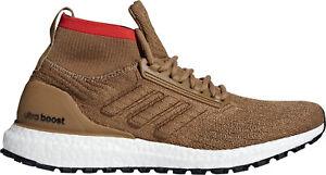 Confiant Adidas Ultra Boost All Terrain Homme Chaussures De Course-marron-afficher Le Titre D'origine