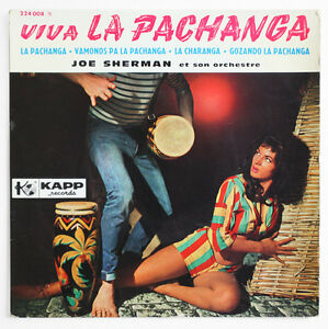 SEXY COVER JOE SHERMAN Viva la pachanga latin french BIEM ...