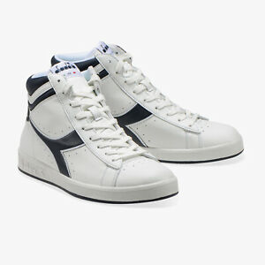 SCARPE-DIADORA-UOMO-GAME-P-HIGH-101-1620277-01-C4656-BIANCO-WHITE-DENIM-ORIGINAL