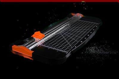 Papierschneider Schneidemaschine Fotoschneider DIN A4 Cutter 2 extra Klingen