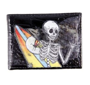 De-La-Luna-Skeleton-Surfer-Black-Leather-Wallet-Surfer-Wallet-Skull-Wallet