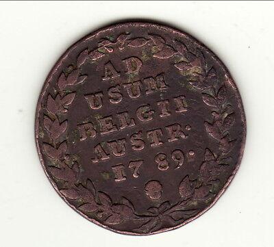 2 Liard Aust Belgie 1789 A Saisir
