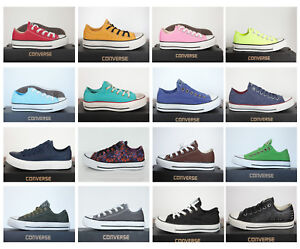 Sneaker Pelle Donna Converse Lino Nuovo Mod Chucks Low Ox Star All Div 7xw0wqUz8g