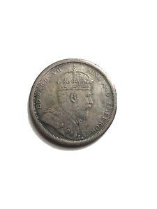 1904-Edward-VII-Straits-Settlements-1-One-Dollar-Silver-Coin
