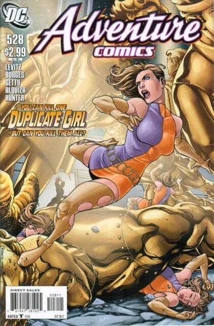 Adventure Comics #528, DC Comics, September 2011, Francis Portela cover $2.99