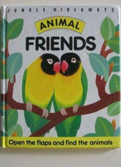 Jungle Hideaways: Animal Friends,A. J. Wood
