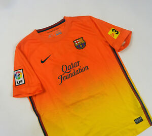sports shoes 3d3b7 30d8b Details about * FC Barcelona 2012 / 2013 Boys Away Kit Lionel Messi #10  Shirt Camiseta Maglia