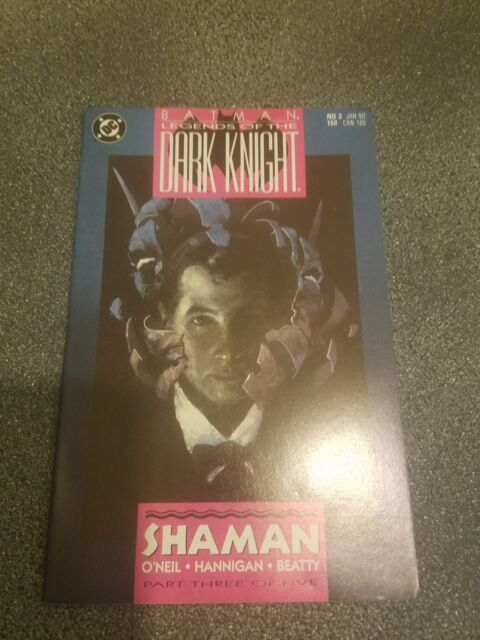 Legends of the Dark Knight # 3 USA, 1990 Batman Shaman part 3
