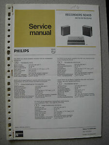 Philips-N2405-Service-Manual-inkl-Service-Info