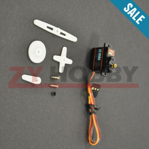 1PC EMAX ES 08 MAII 12g// 1.8 kg Mini Metal Gear High-Speed 9 G Servo Upgrade Version