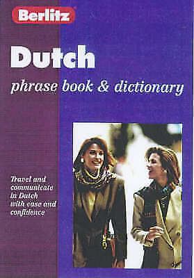 1 of 1 - Dutch Phrase Book and Dictionary by Berlitz Guides (Paperback, 1993)