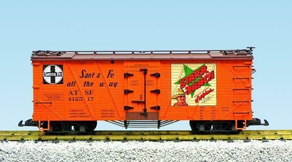 USA Trains 15025B Outside Braced Refrigator Cars - Starr Ranch -  Santa Fe   | Deutschland Shop