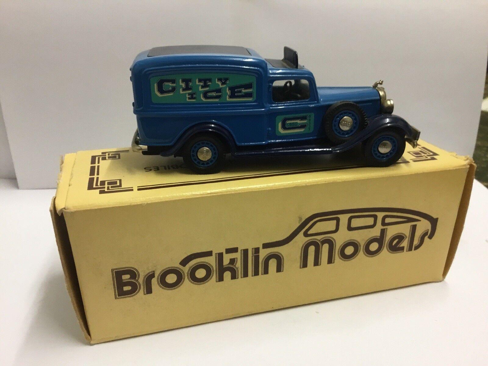 Brooklin modelle brk.16a 1935 dodge van ice - lieferung - druckguss 1 43
