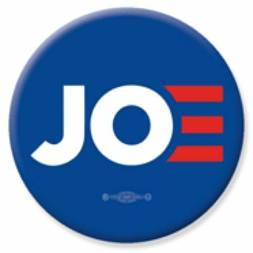 Joe Biden JOE For President 2020 Blue 2.25 Inch Pinback Button Pin