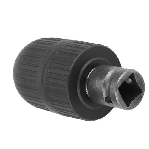 1//2inch-20UNF Keyless Drill Chuck Screwdriver Impact Driver Adapter Hex Tool NEW