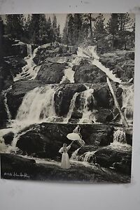 """ALAN HOUGHTON fine art Photography """"RAGING WATER"""" 16"""" x 20"""" dated 1986"""