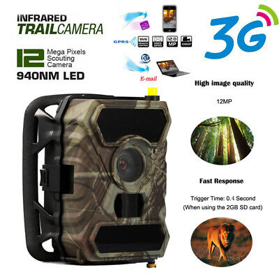 12MP HD 1080P Hunting Camera Trail Scounting Game Wildlife Security WildGuarder