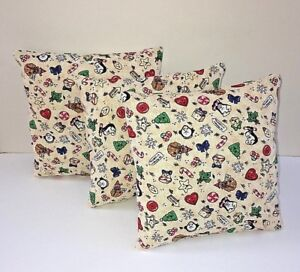Christmas Pillows.Details About Small Square Christmas Pillows Girls Room Decor Barbie Pillows 7x7 Holiday Decor