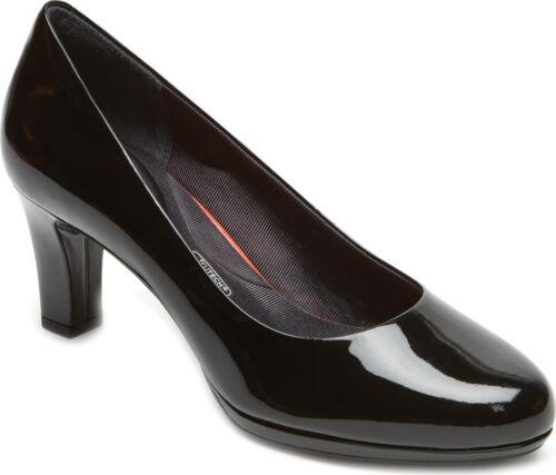 NEW in Black Patent Leather Details about  /Rockport Total Motion Leah Pump Women's
