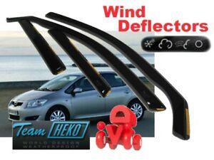 TOYOTA-Auris-2007-2012-5-doors-Wind-deflectors-4-pc-HEKO-29390