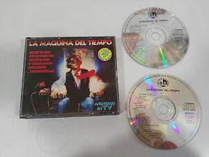 LA-MAQUINA-DEL-TIEMPO-QUIQUE-TEJADA-MIX-2-X-CD-FAT-BOX-BLANCO-Y-NEGRO-1993
