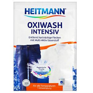 50g Heitmann Oxi Wash Intensiv Entfernt Hartnackige Flecken Mit