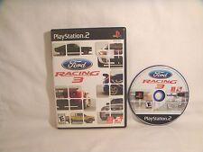 Ford Racing 3 - PS2 - *NO Manual