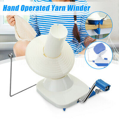 Hand Operated Swift Yarn Wool String Roll Ball Thread Skein Winder Machine