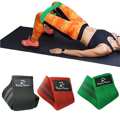 New Resistance Bands Hip Circle Glute Latex Loop Band Exercise Fitness Leg Squat