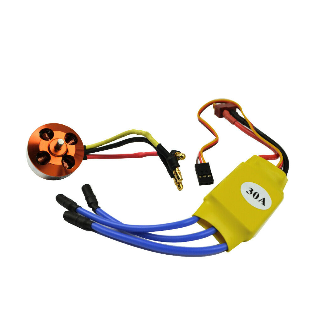 30A ESC Free Mount for RC Plane Helicopter 30A 2200KV Brushless Motor 2212-6