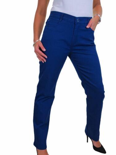ICE Womens Plus Size High Waist Straight Leg Stretch Jeans 14-24