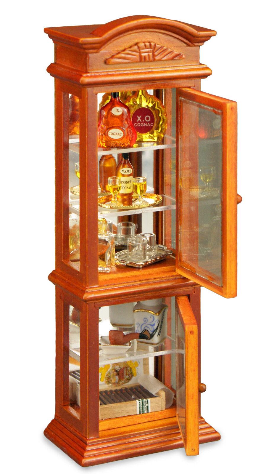 SCALA 12th armadietto dei gentiluomini  per i collezionisti o casa delle bambole scena
