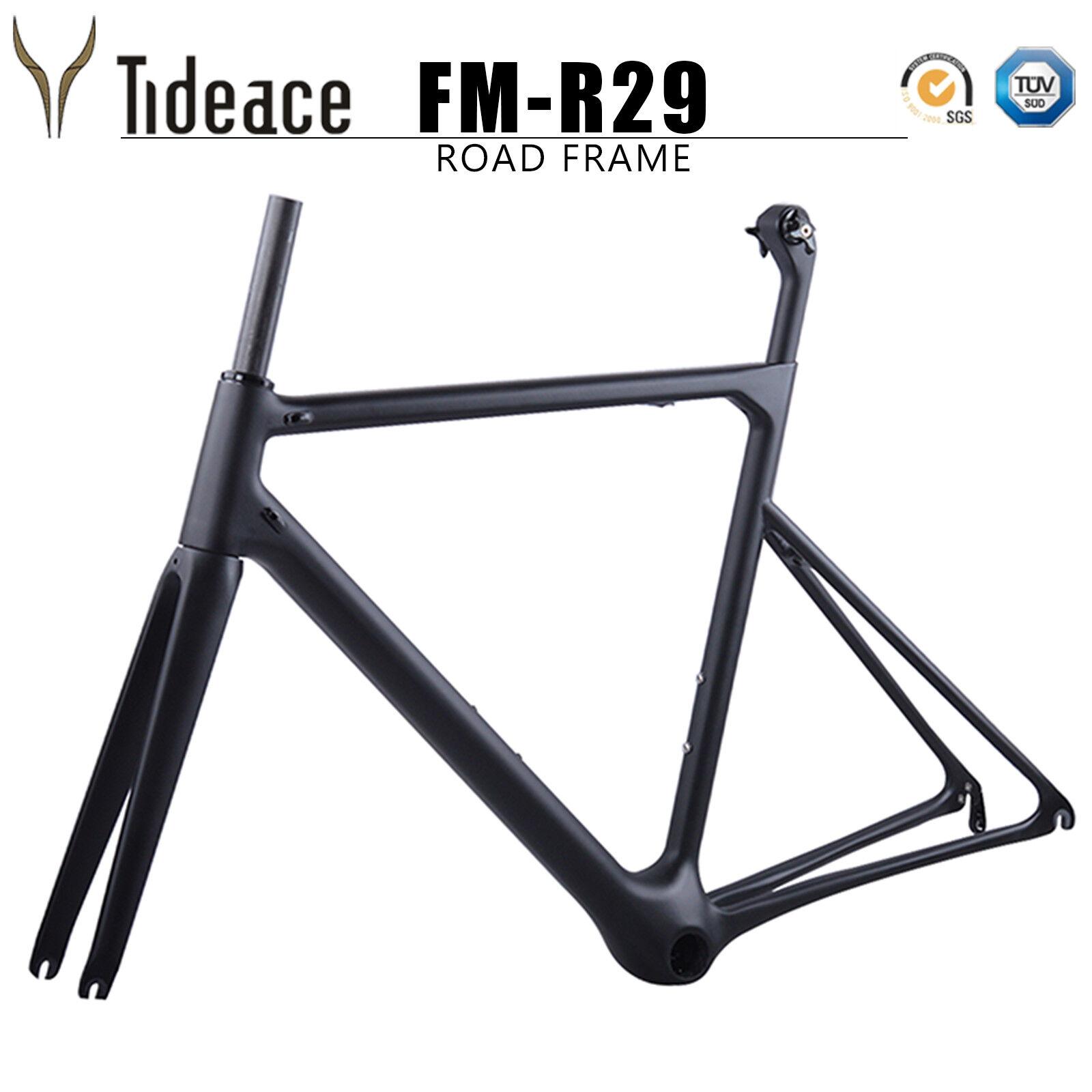 Súper ligero T800 OEM de fibra de Cochebono bicicleta de ciclismo 46 48 50 52 54 56 58cm Marco