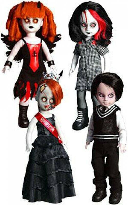 Living Dead Dolls 13th aniversario resurrección V Juego de 4 Muñecas Exclusivo