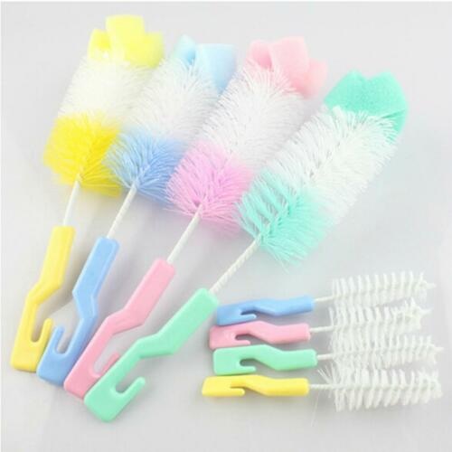 Baby Bottle Brush Cleaner Spout Cup Glass Teapot Washing Cleaning Tool Brush LC