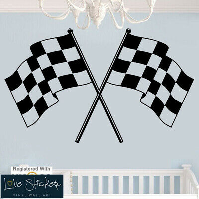 Wall Stickers Calm Race Boys Formula 1 Cool Cars Quote Art Decals Vinyl Home Roo