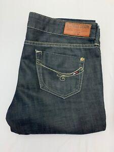 Womens-Tommy-Hilfiger-Denim-Rosie-Slim-Dry-Worn-Bootcut-Jeans-W28-L30