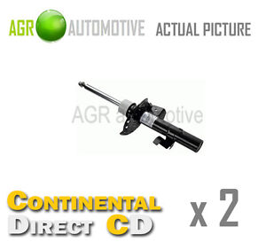 2-x-CONTINENTAL-DIRECT-FRONT-SHOCK-ABSORBERS-SHOCKERS-STRUTS-OE-QUALITY-GS3149FL