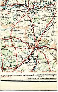 37-41-Chateau-Renault-Montoire-1924-carte-lin-partie-orig-Monthodon-Monnaie