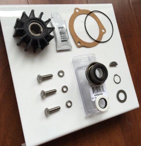 Sherwood Raw Water Pump Rebuild kit OEM 9959 Impeller 23979 G15 G21 G30 J70 K75B