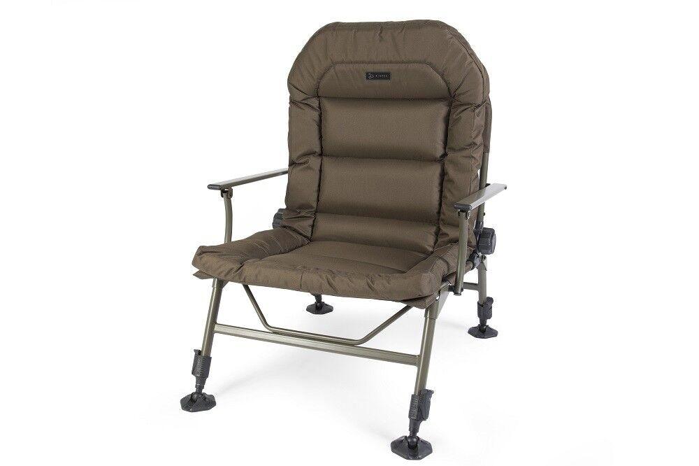 Avid Carp una sedia SPEC NUOVO pesca della carpa poltrona reclinabile