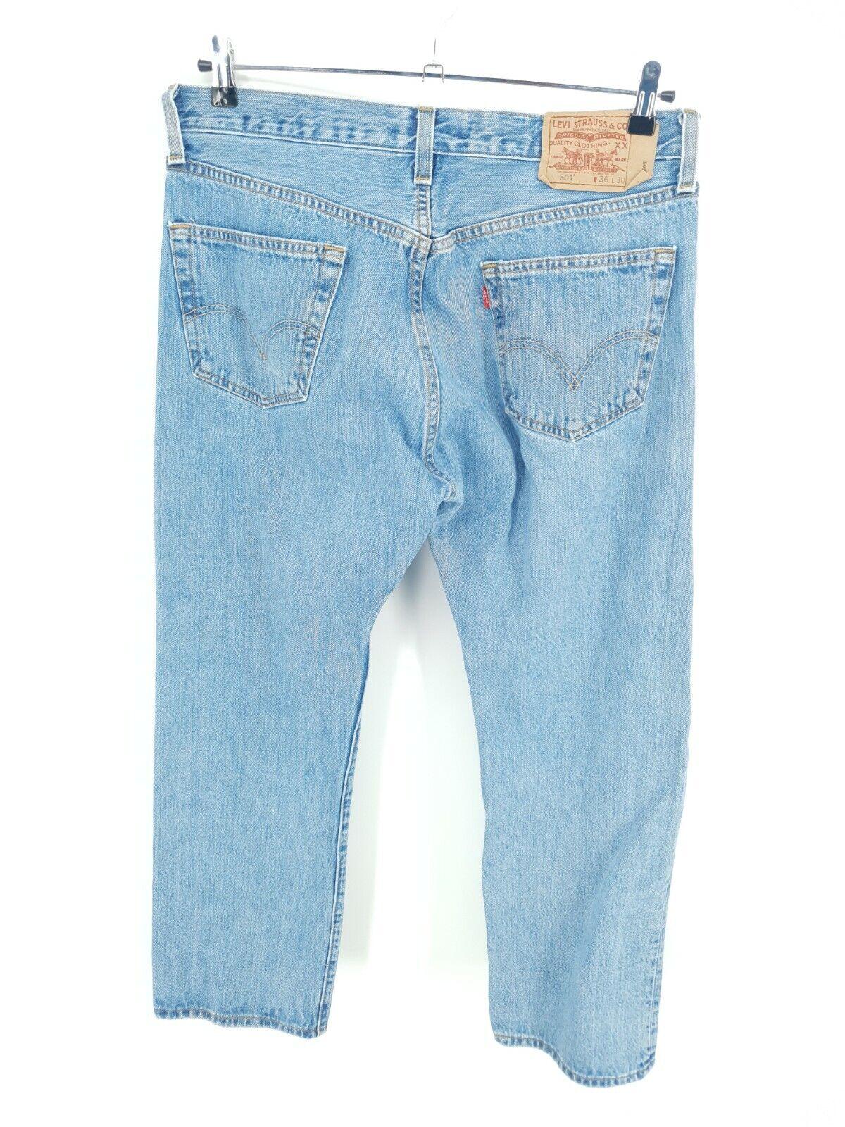Vintage  Levis 501 XX Jeans Mens 36x30 Distressed… - image 5