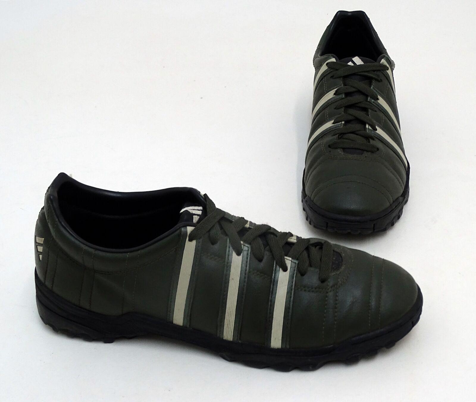 Adidas Turf Outdoor Fußballschuhe Synthetik olive Gr. 44