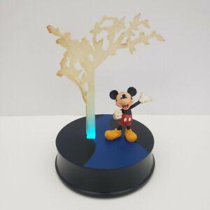 Disney-Store-25th-Anniversary-Mickey-Edition-of-2500-Works-Tree-Statue-Light
